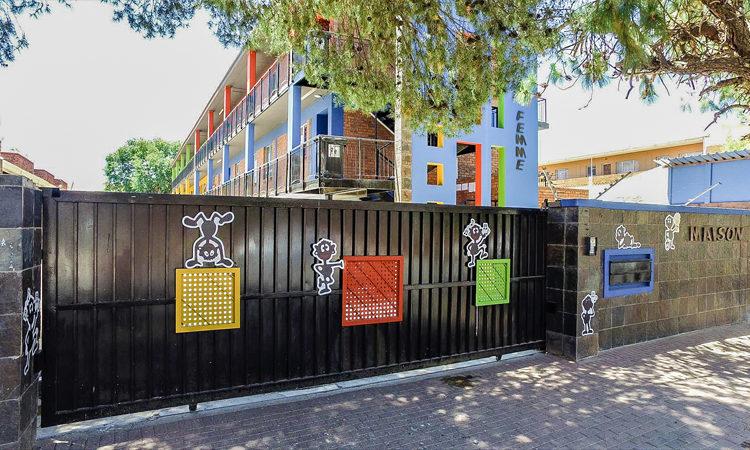 Quattro Properties - La Femme student accommodation entrance