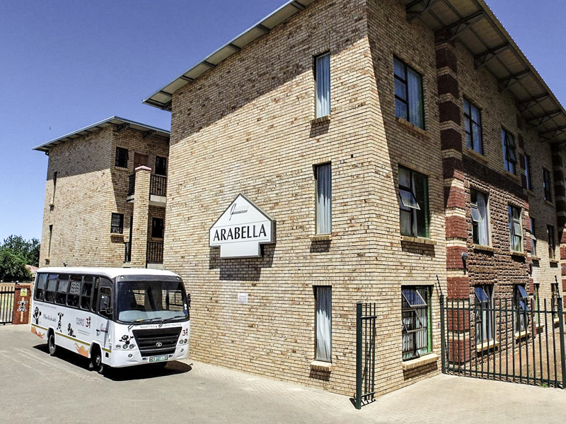 Quattro Properties - Arabelle student accommodation with bus
